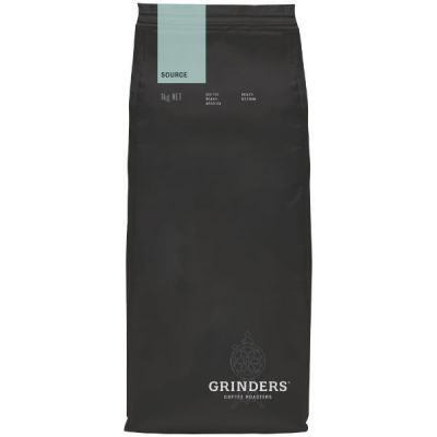 Grinders Coffee source bean pack front
