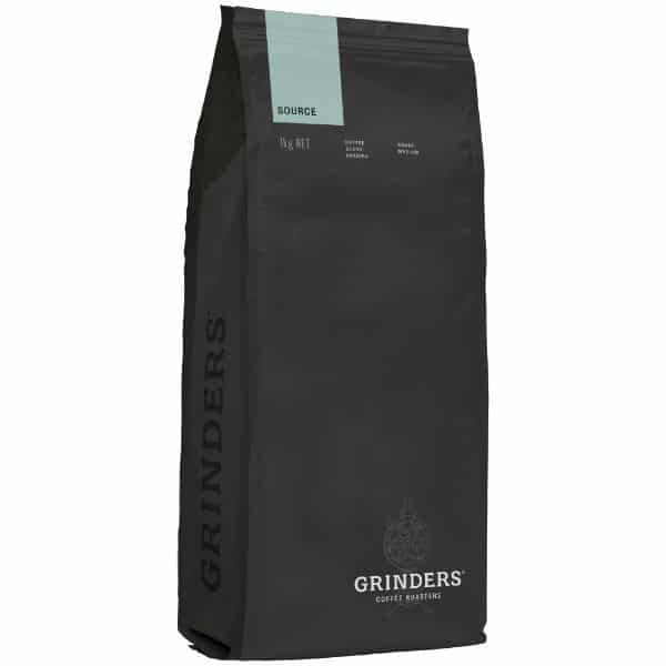 Grinders Coffee source bean pack