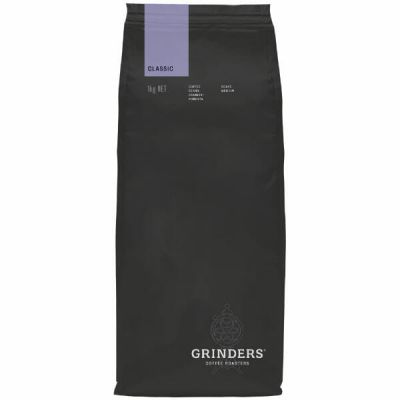 Grinders Coffee classic bean pack front
