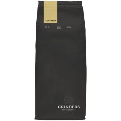 Grinders Coffee foundation bean pack front