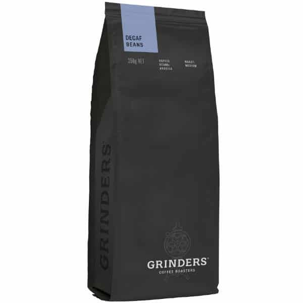 Grinders Coffee decaf bean pack