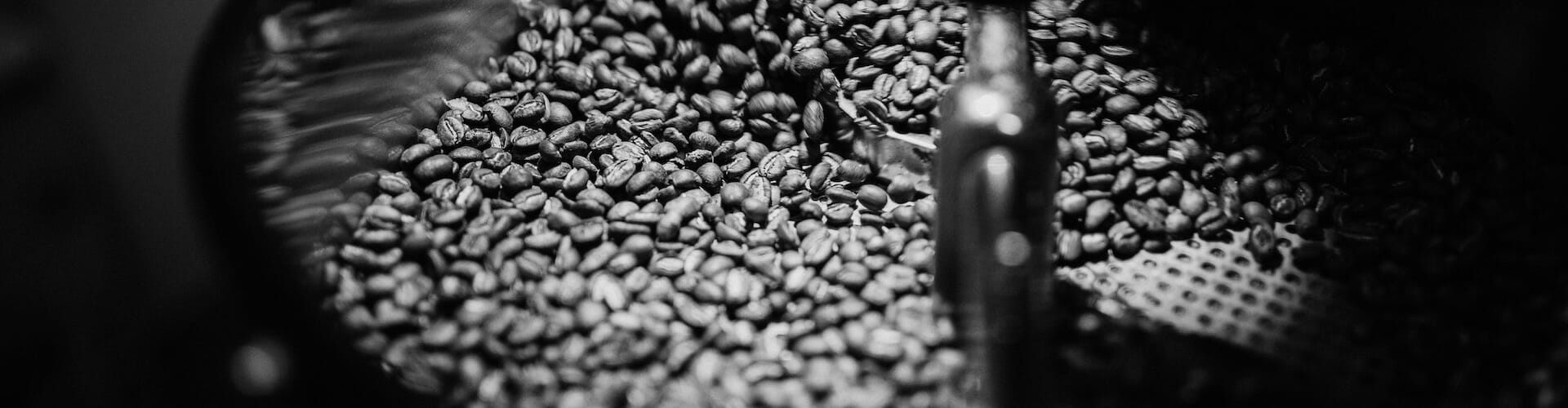 Roasting coffee beans 6