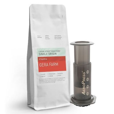 Aeropress & 250g Single Origin Beans
