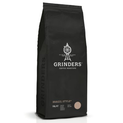 Grinders Coffee brazil style beans 250g