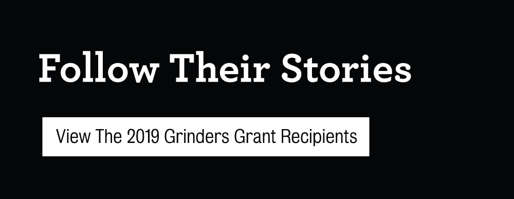 Grinders Coffee follow their stories slider